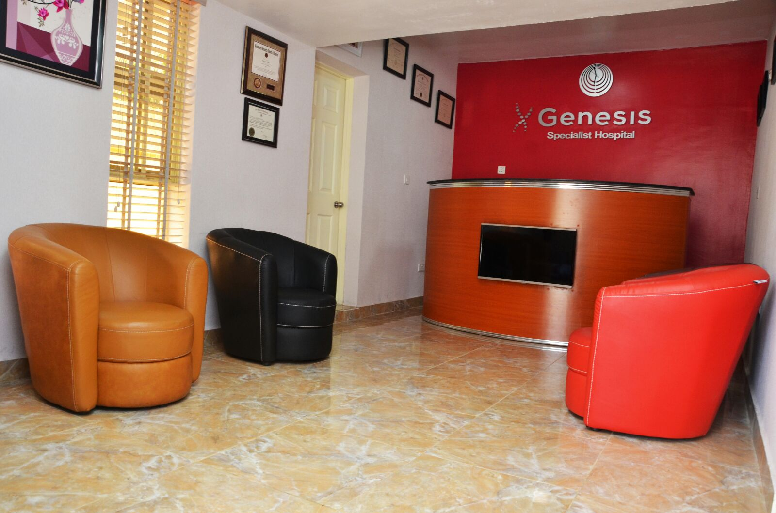 Waiting Room - Genesis Specialist Hospital
