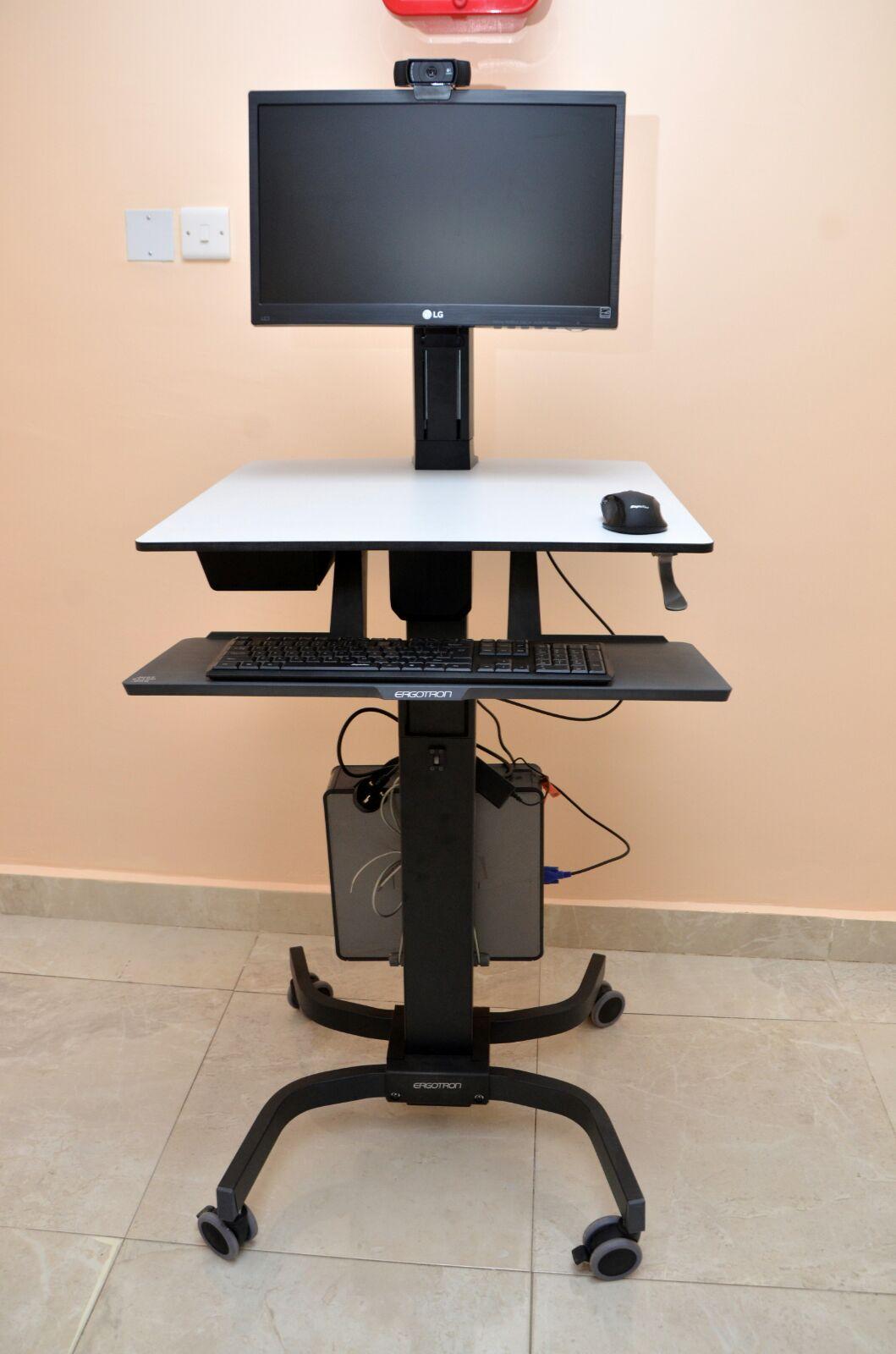 Mobile Cart - Genesis Specialist Hospital