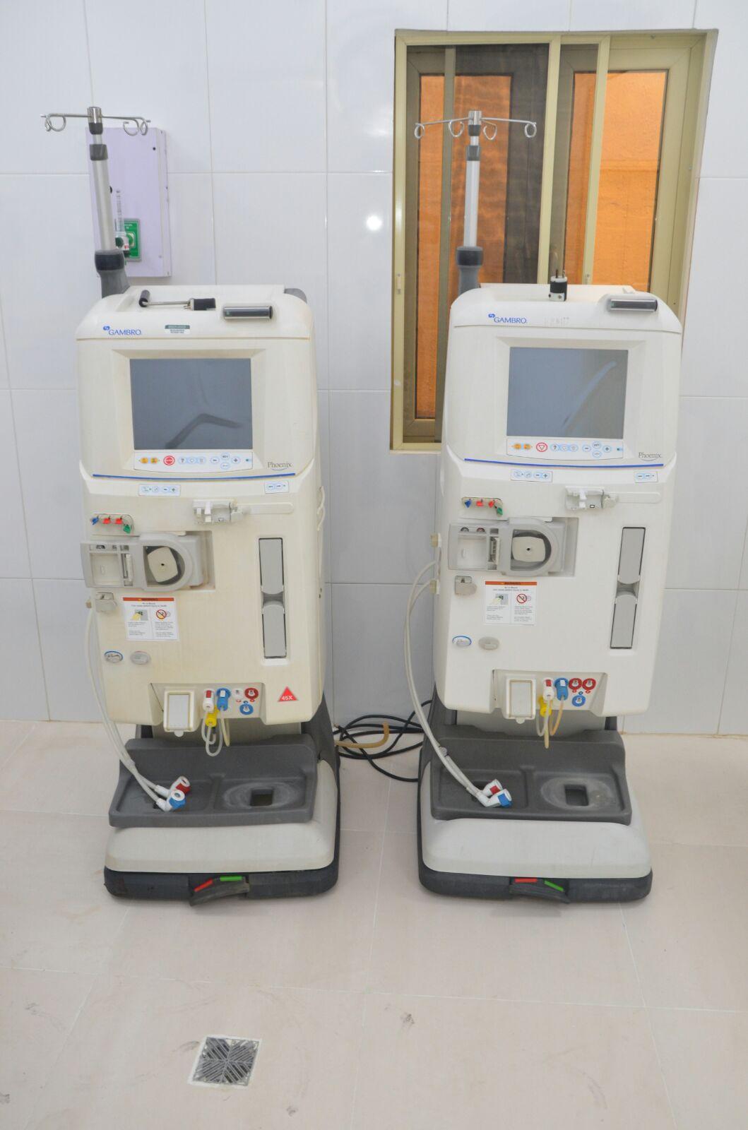 Dialysis Machine - Genesis Specialist Hospital